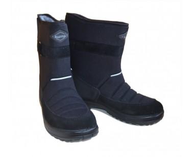 Сапоги Kuoma Lumikki черные 140403-03