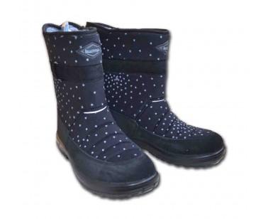 Сапоги Kuoma Lumikki черная галактика 1404-0397