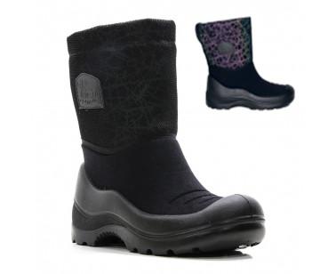Ботинки Kuoma Lumileikki 122703-3 черный