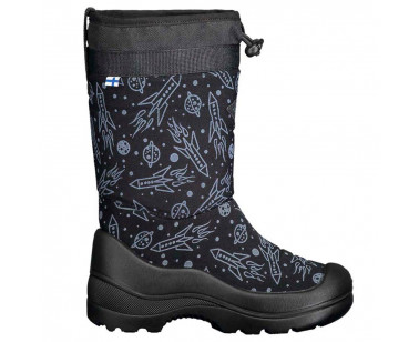 Ботинки Kuoma Snow lock 122203-399 черные ракеты